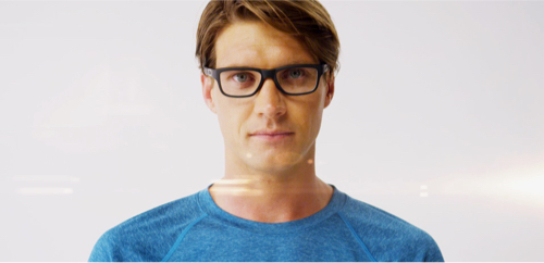 8189b778b9 TruBridge™ Technology adapts the frame to the width and depth of your nose  bridge
